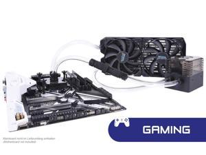 Alphacool Eissturm Gaming Copper 30 2x140mm - complete kit Water cooling kits, systems and AIOs