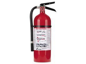 408-21005779 4 lbs. 2A:10-B:C Rated Rechargeable Fire Extinguisher