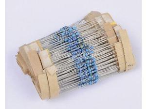 600pcs 1% Metal Film Resistor Bag 1/4w Resistance 30 kinds Each 20