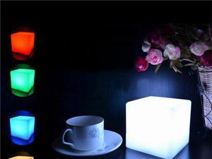 Foxnovo LED Cube Light Multi-Color Cordless Night ...