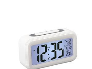 Foxnovo Battery Operated LCD Temperature Display Nightlight Digital ...
