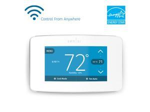 Emerson Sensi Touch Wi-Fi Smart Thermostat with Touchscreen Color Display, White