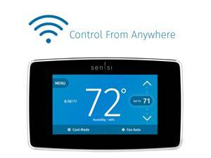 Emerson Sensi Touch Wi-Fi Thermostat for Smart Home with Touchscreen Color Display