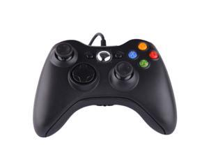 Black USB Wired Gamepad Controller Joypad Joystick For Xbox 360 PC Windows US
