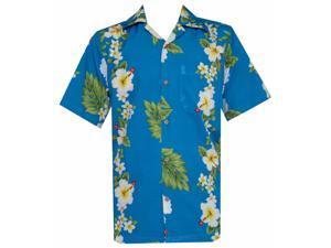29e56042 Shirts Alvish Hawaiian Shirt Mens Flamingo Leaf Print Beach Aloha Party Rich