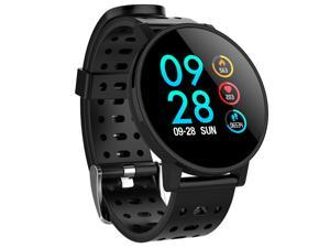Makibes T3 Smart Watch 1.3 Inch IPS Screen Heart Rate Blood Pressure Monitor IP67 - Black