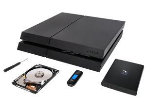 PS4 8GB Flash Drive CUH 1200 1.75TB Playstation4 Hard Drive w// Mounting Kit