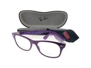 1646ff35c6bfa Ray Ban RX7032-5437-52 Liteforce Unisex Violet Frame Clear Lens Eyeglasses  NWT