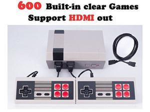 New Retro Family HDMI HD Classic NES Console TV Game Built-in 600 Games Handheld + 2 Handle Controllers