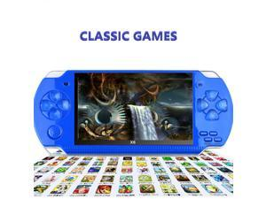 PSP 4.3 Inch Handheld Game Console Portable Video Game Player with 1000 Game 8GB
