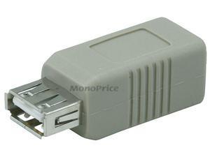 Monoprice USB 2.0 A Female/B Female Adapter