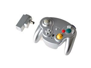 2.4G Wireless Controller JoyPad Gamepad for Gamecube NGC Silver
