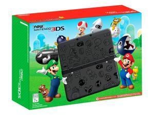 Nintendo 3DS Super Mario Black Edition - Nintendo 3DS Game Console System