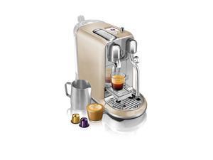 Breville BNE600RCH Nespresso Creatista Espresso and Coffee Maker, Royal Champagne