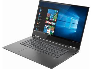 "Lenovo - Yoga 730 2-in-1 15.6"" Touch-Screen Laptop - Intel Core i5 - 8GB Memory - 256GB Solid State Drive - Iron Gray 81CU000BUS Tablet Notebook Touchscreen PC Computer"