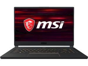 "MSI - 15.6"" Gaming Laptop - Intel Core i7 - 32GB Memory - NVIDIA GeForce RTX 2060 - 512GB Solid State Drive - Matte Black With Gold Diamond Cut Notebook GS65 STEALTH-478"