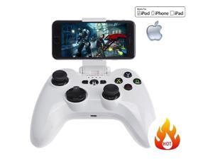 Wireless Gamepad, Megadream iOS Game Gaming Controller Joystick Compatible with iPhone Xs XR X 8 8Plus 7 7Plus 6S 5S 5, ...