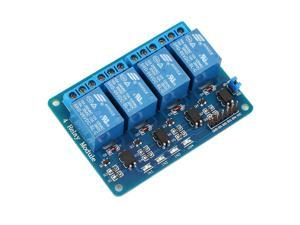 5V 4-Channel Relay Board Module for Arduino for Raspberry Pi ARM AVR DSP PIC
