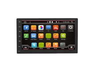 7 Inch Android 6.0 System Double DIN GPS Navigation Car Video Stereo Audio Player Support Radio & Wifi Function black