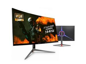 NEWSYNC 27 inch Curved 144Hz 1ms QHD 2560x1440p FreeSync Gaming Monitor (HDR, Adaptive-Sync, Flicker Free, Low Blue Light, Gamemode(FPS-RTS), Crosshair-Taget) DisplayPort, HDMI (X270QG CURVED 144 HDR)