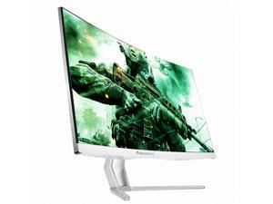 NEWSYNC 24inch Real 144Hz 1ms Curved Gaming Monitor 1920x1080 FHD w/DisplayPort/HDMI 5M:1 Contrast Ratio AMD FreeSync Black Level Flicker-Free&Low Blue Light Crosshairs (NEWSYNC X24C 144Hz Curved)