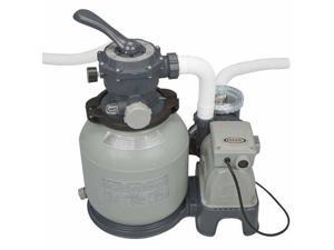 Intex 12 inch Pool Sand Filter System with GFCI