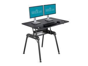 VARIDESK Pro Desk 48 Full Sit-Stand Standing Desk - Black