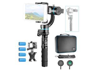 Neewer NW3D2 3-Axis Handheld Gimbal Stabilizer, Mountable and Detachable Wired Control Gimbal with 1/4-inch Female Thread for iPhone 7 7Plus Samsung S6, GoPro Hero 4 3+ GoPro Accessories and More