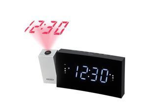 JENSEN JCR238 DIGITAL DUAL ALARM PROJECTION CLOCK RADIO