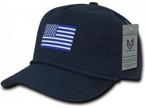 f63bd7d2683 RapDom USA Flag 5 Panel Golf Mens Cap ...