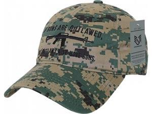 d814aa8390d RapDom Outlaw Graphic Relaxed Mens Cap ...