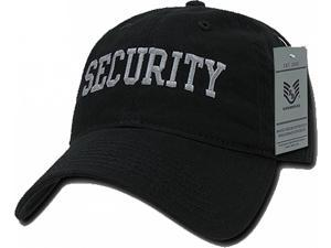 ced5aa40d07 RapDom Security Relaxed Cotton Mens Cap ...