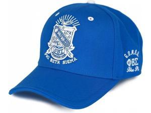 1f494a06dbb Big Boy Phi Beta Sigma Divine 9 S3 Mens Cap  Royal Blue ...