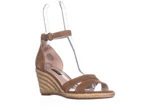 4f71533251 Nine West Jeranna Wedge Heel Espadrilles Sandals, Dark ...
