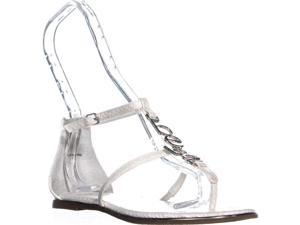 7c212a1ab250 Bebe Pamelaa Flat Ankle Strap Sandals ...