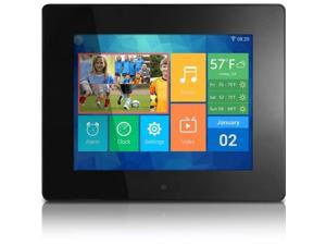 """8"""" WiFi Digital Photo Frame with Touchscreen IPS LCD Display and 8GB Built-in Memory"""