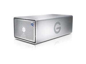 G-Technology G-RAID 20TB 2 x Thunderbolt 2, 1 x USB 3.0 Removable Dual-Drive Storage System 0G05012 Silver