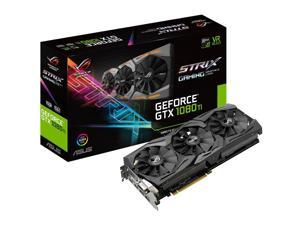 ROG ROG-STRIX-GTX1080TI-11G-GAMING GeForce GTX 1080 Ti Graphic Card - 1.52 GHz Core - 1.63 GHz Boost Clock - 11 GB GDDR5X - Triple Slot Space Required