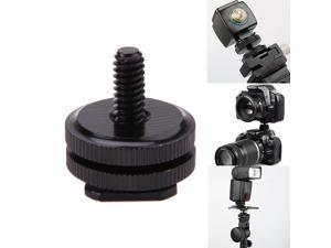 """1/4""""-20 Tripod Mount Screw to Flash Camera Hot Cold Shoe Adapter"""