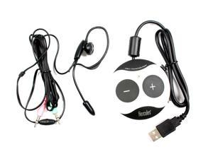 Hercules Gamesurround Muse XL Pocket LT3 USB Sound Card With Headset C80D8