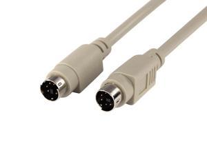 Monoprice 10ft PS/2 MDIN-6 Male to Male Cable