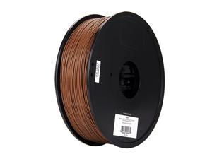 Monoprice MP Select PLA Plus+ Premium 3D Filament 1.75mm 1kg/spool Brown