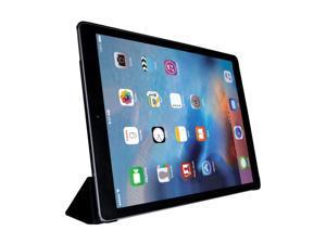 Monoprice Leatherette Folio Case - Piano Black For 12.9 Inch iPad Pro