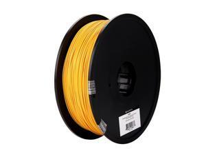 Monoprice MP Select PLA Plus+ Premium 3D Filament 1.75mm 1kg/spool Gold