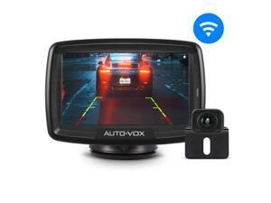 AUTO VOX Digital Wireless Backup Camera Kit CS-2, Stable Signal Rear View Monitor Reversing Camera Vans,Trucks,Camping Cars,RVs