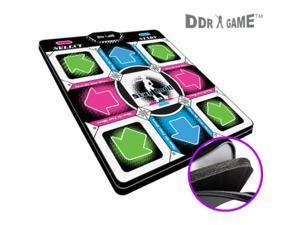 "Dance Dance Revolution DDR Super Deluxe PS1 / PS2 dance pad w/1 in"" foam Version 2.0 m02245"