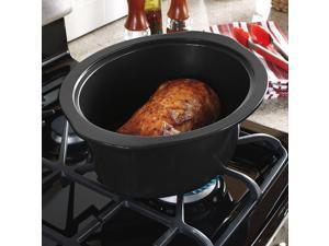 Replacement Stoneware - Crock-Pot 6.0-Quart Slow Cooker - Stovetop-Safe Cooking Pot for SCCPVI600-S 178987-000-000