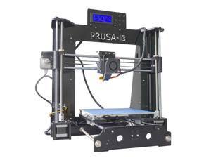 Upgraded P802D Desktop DIY 3D Printer Kits by TRONXY | High Precision Acrylic Frame Prusa i3 Printer with LCD Screen -Support 1.75mm ABS/PLA/HIPS/PC/Wood Filament -Printing Size 220x220x180mm