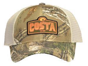 7e30677736a Costa Del Mar Twill With White Mesh Trucker Hat ...