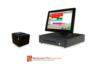 Restaurant Point of Sale System - includes Touchscreen PC, POS Software (RPE), Receipt Printer, Cash Drawer, and Credit Card Swipe Reader